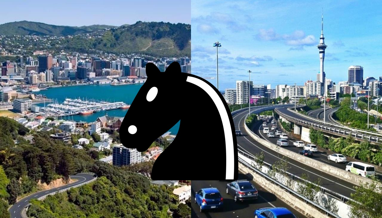 Online match between Auckland and Wellington chess players, April 1, 7:30 PM